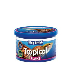 King British Tropical Flake 12g Promotes Colour Condition and Vitality