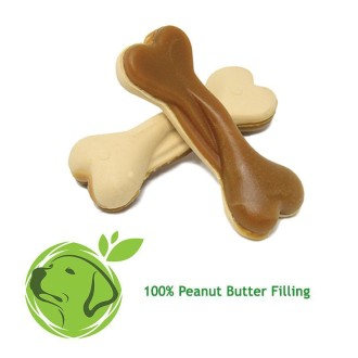 Max Patch Peanut Butter Dual Sided Small Bone Dog Treat
