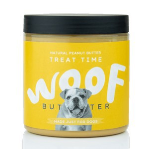 Woof Natural Peanut Butter for Dogs 250g