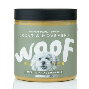 Woof Butter Joint & Movement: Natural Peanut Butter for Dogs 250g