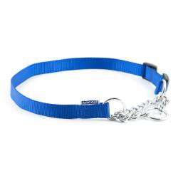 Dog Combi Collar 12mm X 35 to 45cm Blue