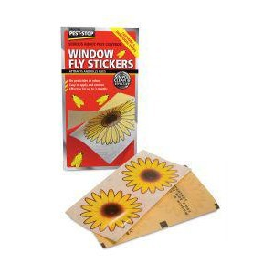 Pest Stop Window Fly Stickers (pack of 4)