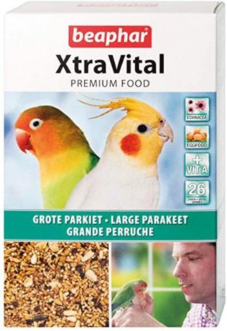 Beaphar Xtravital Parakeet Food 1kg