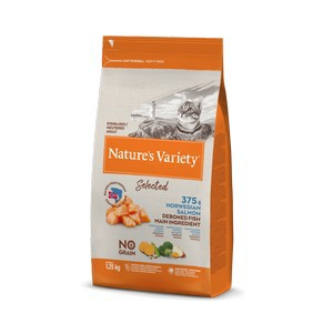 Natures Variety Salmon and Tuna Cat Food 1.25kg