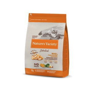 Natures Variety Selected Dry Adult Sterilized Cat Chicken 3kg