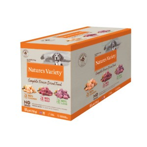 Nature's Variety Multipack Freeze Dried Dinners for Dogs 6 x 120g
