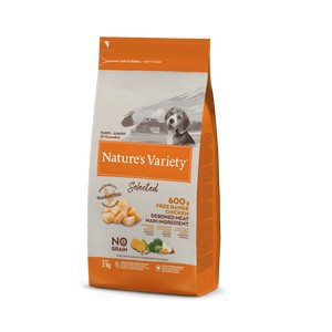 Natures Variety Selected Dry Puppy/Junior Dog Free Range Chicken 2kg