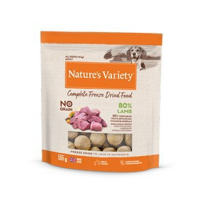 Natures Variety Freeze Dried Lamb Dinner 120g