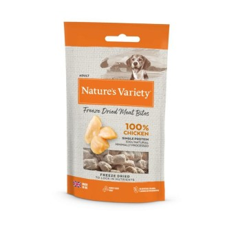 Natures Variety Freeze Dried Real Chicken Bites 20g