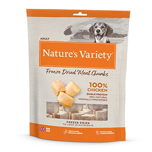 Natures Variety Freeze Dried Real Chicken Chunks - 200g