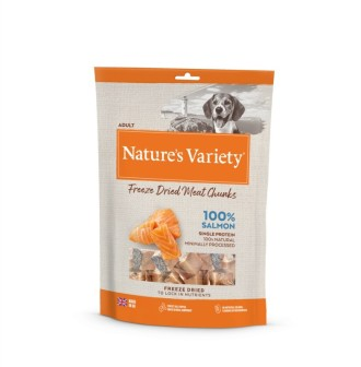 Natures Variety Freeze Dried Real Salmon Chunks 200g