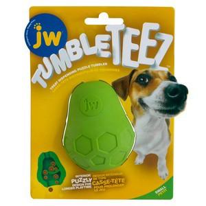 JW Tumble Teez Dog Treat Toy Small Green