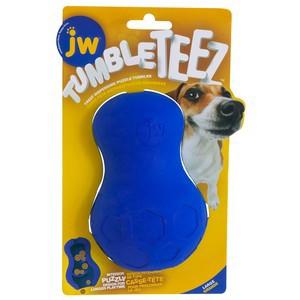 JW Tumble Teez Dog Treat Toy Large Blue