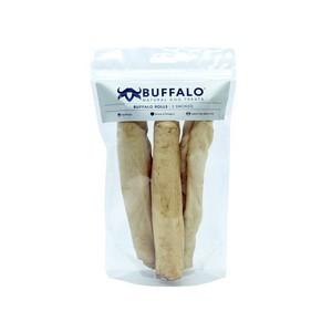 Sniffers Buffalo Rolls Smoked Dog treats 3 pack