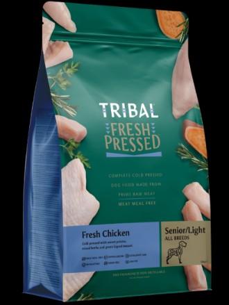 Tribal Grain Free Cold Pressed Senior Light Chicken Dog Food 12kg
