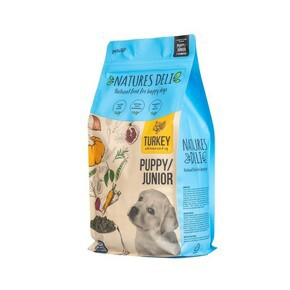 Natures Deli Puppy Junior Turkey and Rice Dog Food 2kg