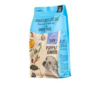 Natures Deli Grain Free Puppy Junior Duck and Sweet Potato Dog Food 2kg