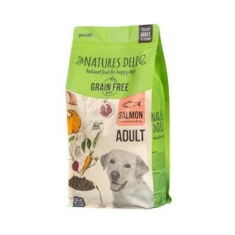 Natures Deli Adult Grain Free Salmon & Sweet Potato Dog Food 12kg