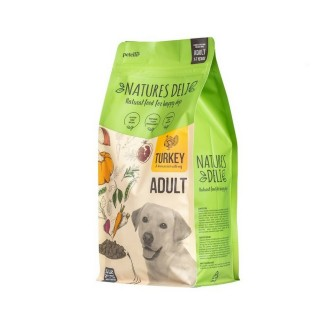 Natures Deli Adult Turkey and Rice Dog Food 2kg