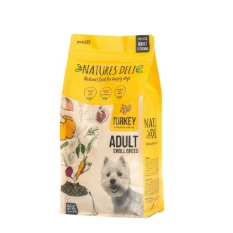 Natures Deli Adult Turkey and Rice Small Breed Dog Food 2kg