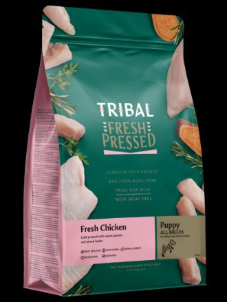 Tribal Grain Free Cold Pressed Chicken Puppy Food 2.5kg