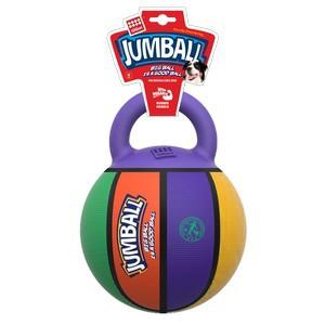 GiGwi Jumball  Basketball Ball with rubber handle