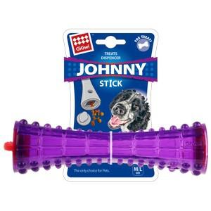 GiGwi Treats Dispenser Durable TPR Stick Transparent Purple